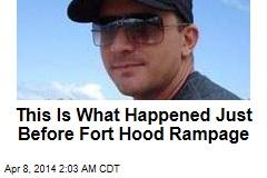 Fort Hood Rampage Lasted 8 Minutes