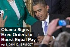 Obama Moves to Shrink Gender Wage Divide
