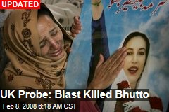 UK Probe: Blast Killed Bhutto