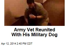 Army Vet Reunited With His Military Dog