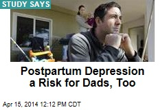 Postpartum Depression a Risk for Dads, Too