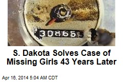 South Dakota: Girls Missing 43 Years Died in Car Crash