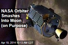 NASA Orbiter Smashes Into Moon (on Purpose)