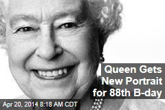 Queen Gets New Portrait for 88th B-day