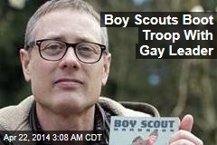 Boy Scouts Boot Troop With Gay Leader