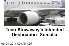 Teen Stowaway Wanted to See Family in Somalia