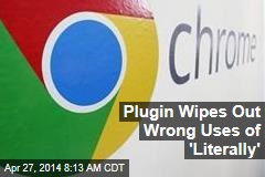 Plugin Wipes Out Wrong Uses of 'Literally'