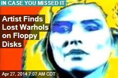 Artist Finds Lost Warhols on Floppy Disk