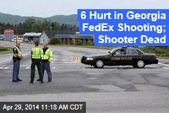 6 Hurt in Shooting at Ga. FedEx; Shooter at Large