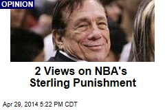 2 Views on NBA's Sterling Punishment