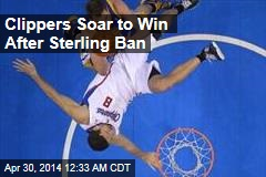 Clippers Soar to Win After Sterling Ban