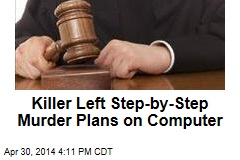 Killer Left Step-by-Step Murder Plans on Computer