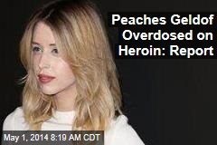 Peaches Geldof Overdosed on Heroin: Report