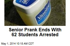 Senior Prank Ends With 62 Students Arrested