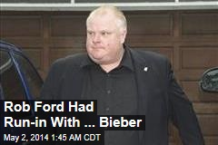 Rob Ford Heads to Chicago for Rehab