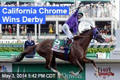 California Chrome Wins Derby