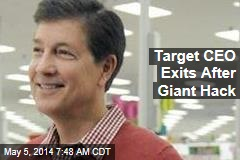 Target CEO Exits After Giant Hack