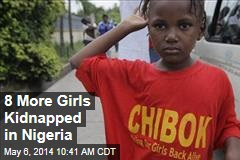 8 More Girls Kidnapped in Nigeria