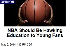NBA Should Be Hawking Education to Young Fans
