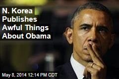 N. Korea Publishes Awful Things About Obama