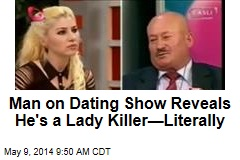 Man on Dating Show Reveals He's a Lady Killer—Literally