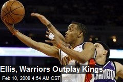 Ellis, Warriors Outplay Kings