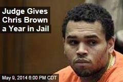 Chris Brown Sentenced to Year in Jail