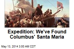 Expedition: We've Found Columbus Flagship