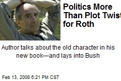 Politics More Than Plot Twist for Roth