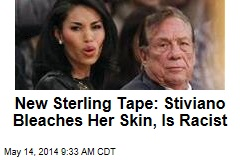 New Sterling Tape: Stiviano Is Racist, Bleaches Her Skin