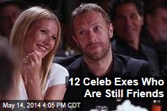 12 Celeb Exes Who Are Still Friends