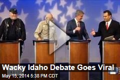Wacky Idaho Debate Goes Viral