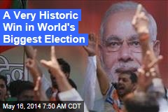 In World's Biggest Election, India Opposition Scores Historic Win