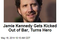 Jamie Kennedy Gets Kicked Out of Bar, Turns Hero