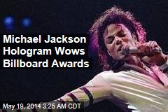 Jackson Hologram Wows Crowd at Billboard Awards
