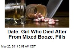 Date: Girl Who Died After Prom Mixed Booze, Pills