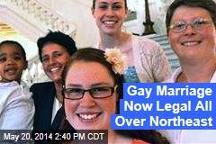 Gay Marriage Now Legal in Pennsylvania