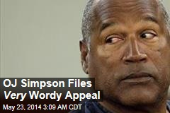 OJ Simpson Files Mammoth New Appeal