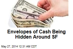 Mystery Donor Hides Cash Around SF