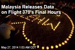 Malaysia Releases Data on Flight 370's Final Hours