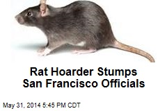 Rat Hoarder Stumps San Francisco Officials