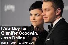 It's a Boy for Ginnifer Goodwin, Josh Dallas