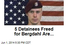 The 5 Detainees Freed for Bergdahl Are...