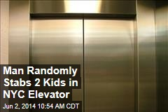 Man Randomly Stabs 2 Kids in NYC Elevator