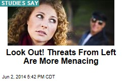 Look Out! Threats From Left Are More Menacing