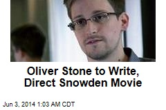 Oliver Stone to Write, Direct Snowden Movie