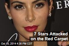 7 Stars Attacked on the Red Carpet