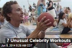 7 Unusual Celebrity Workouts