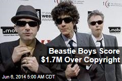 Beastie Boys Score $1.7M Over Copyright