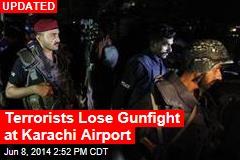 Gunmen Attack Karachi Airport, 6 Dead